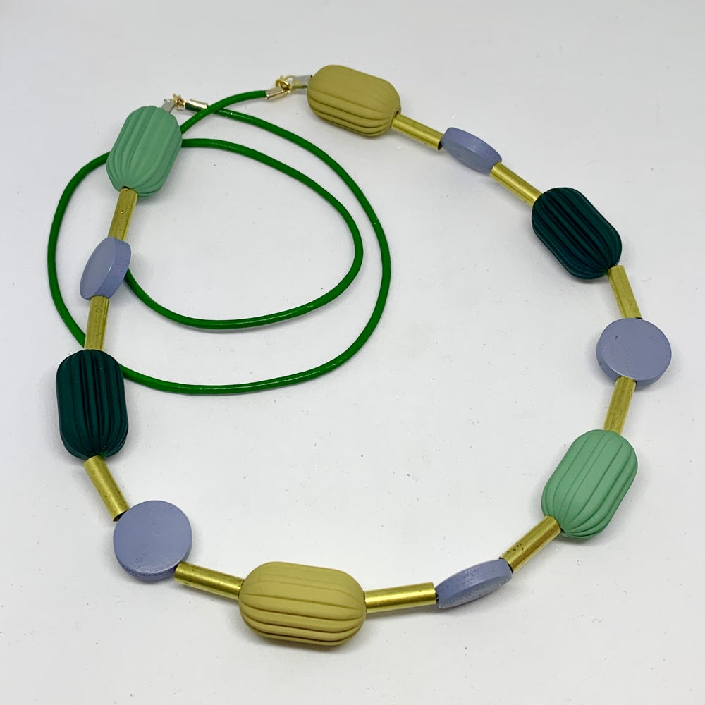 Image of Pod Shapes Necklace 5