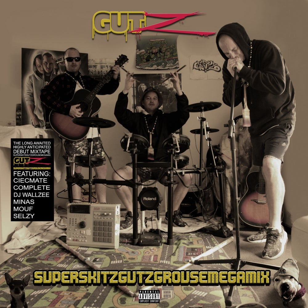 "Image of Gutz ""SuperSkitzGutzGrouseMegaMix"" CD"