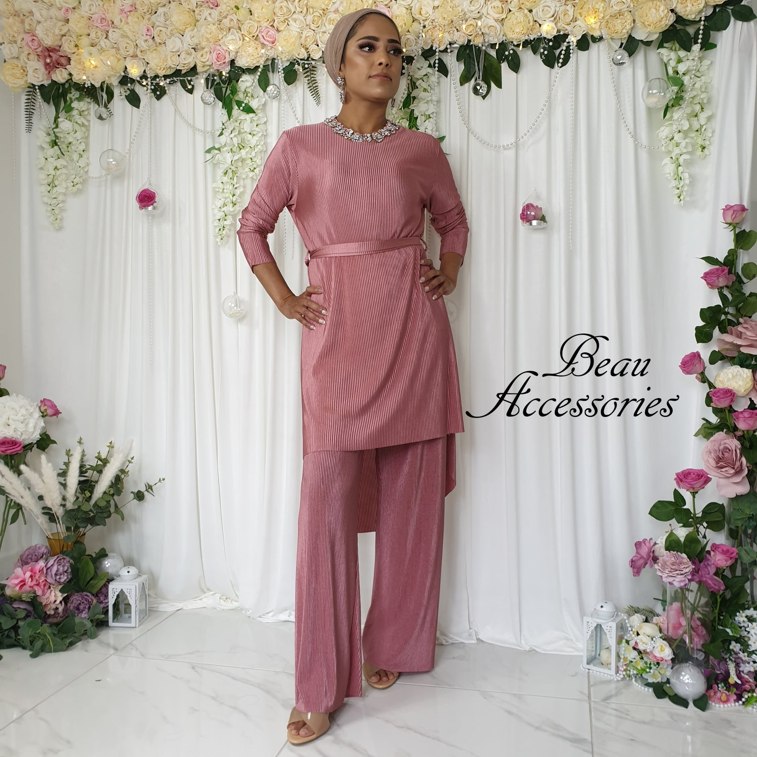 Image of Plisse Co ord Set in all colours