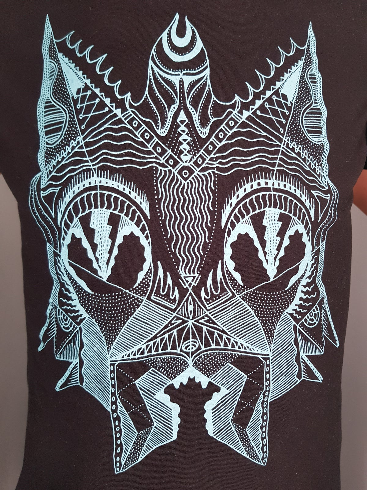"T-SHIRT ""DEVIL CAT"""