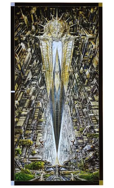 Image of IMPERIAL TRIUMPHANT 'ALPHAVILLE' POSTER PRINT