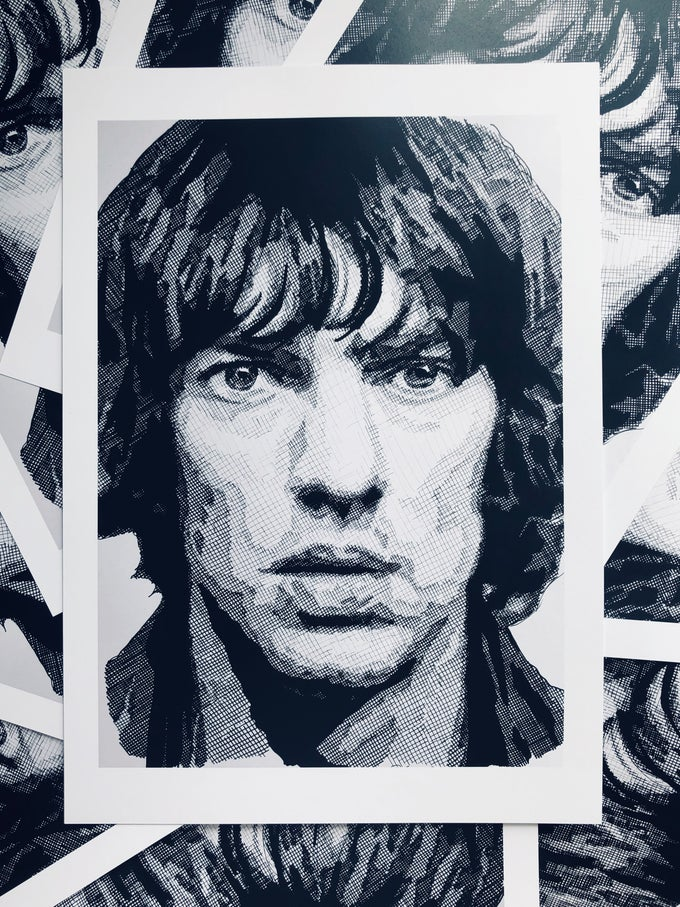 Image of Richard Ashcroft Limited Edition Prints A3