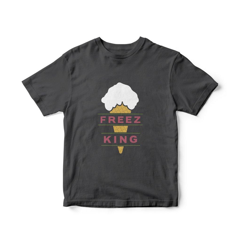 Image of Freez King Nostalgia - T-Shirt *Preorder*