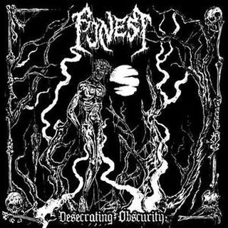 Image of FUNEST - Desecrating Obscurity LP