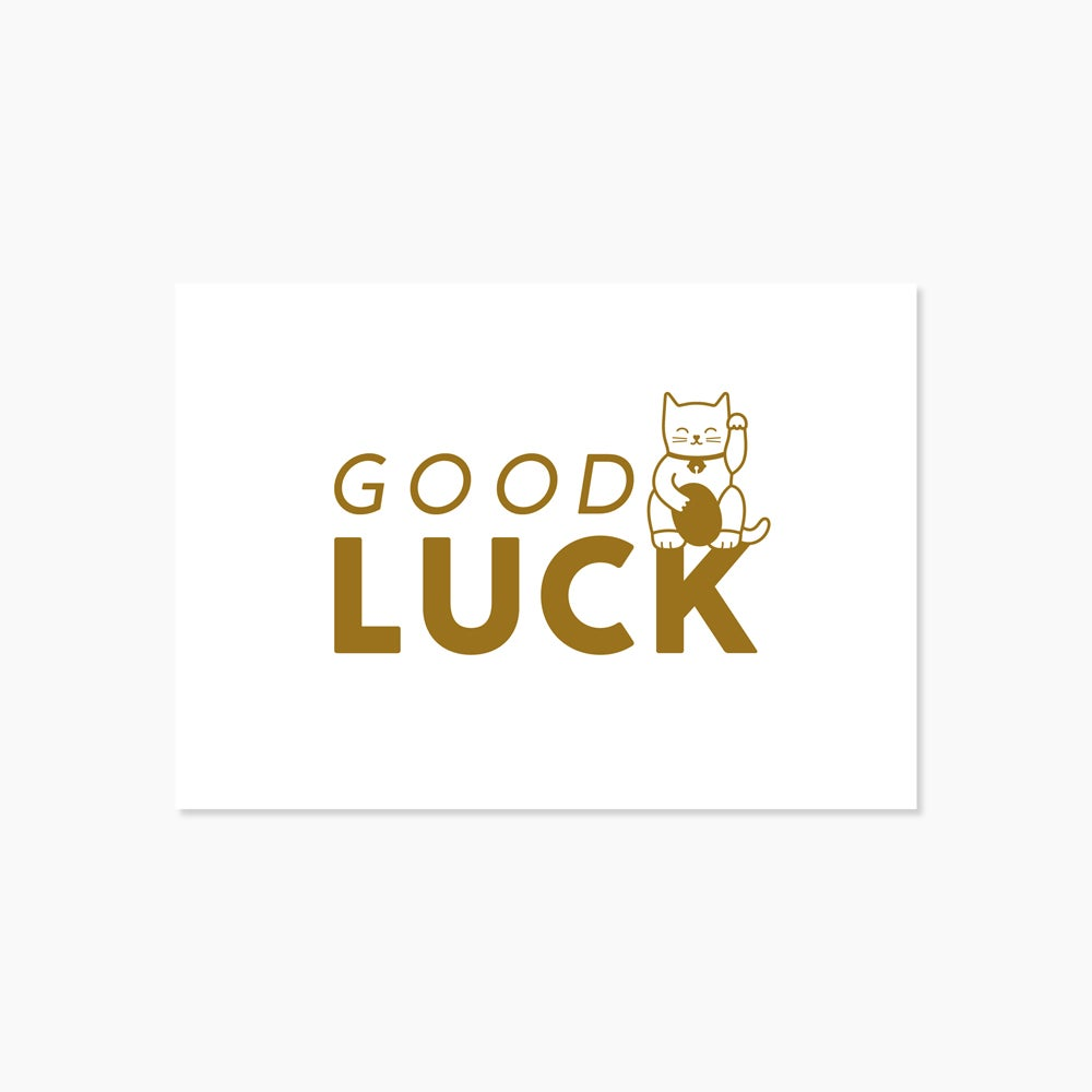 Image of Carte Good luck