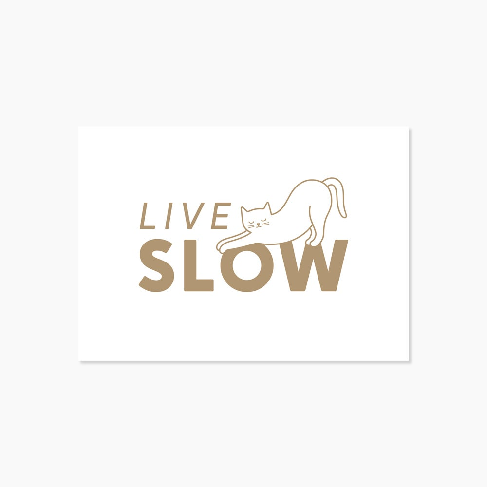 Image of Carte Live slow