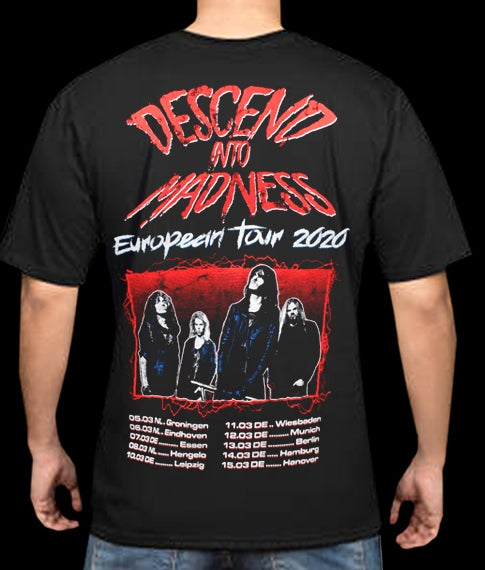 Image of Descend Into Madness - T-shirt