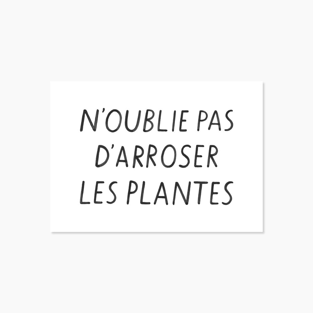 Image of Carte N'oublie pas
