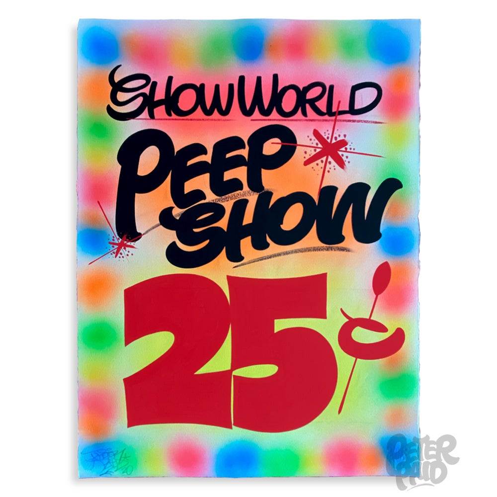 Image of Peep Show - Arches Paper