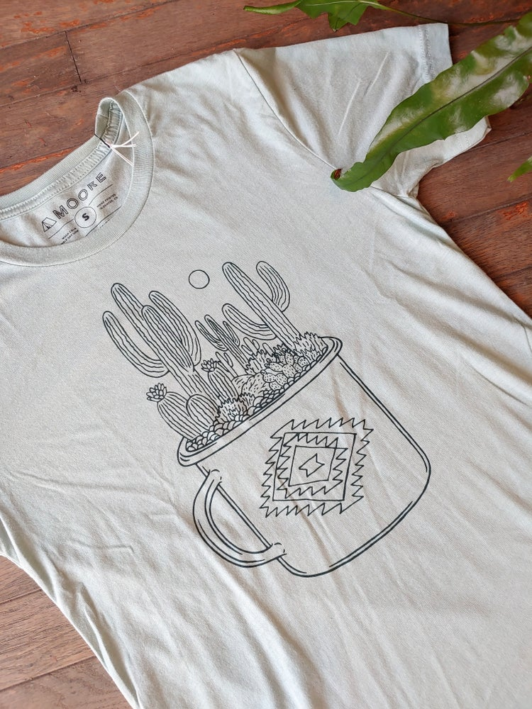 Image of Cactus Cup Unisex Tee