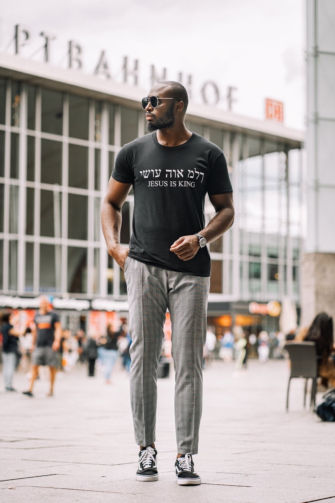 "Image of ""Jesus is King"" T-Shirt"