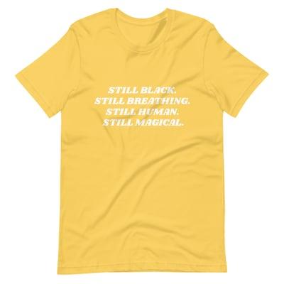 Image of Short-Sleeve 'Yellow' Unisex T-Shirt