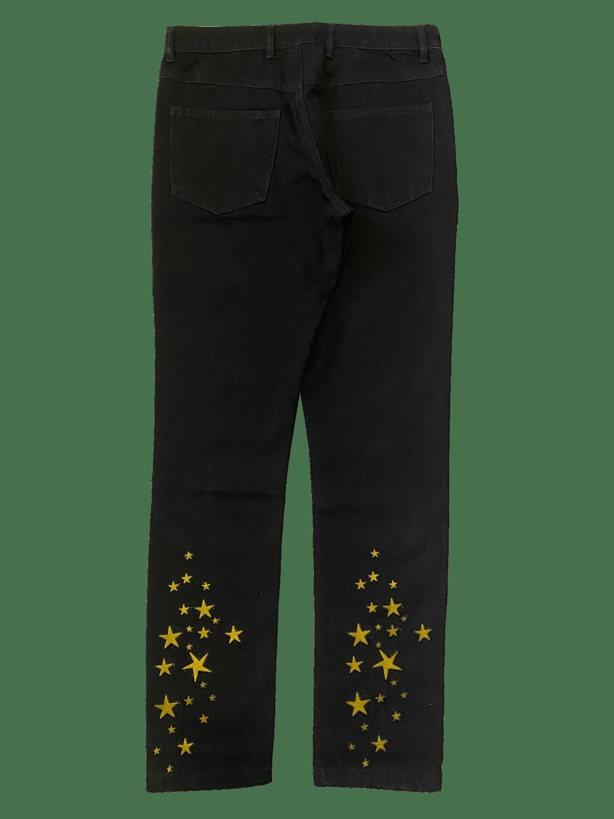 Image of SEEING STARS BLACK DENIM SLIM JEANS