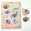 Poké Fossil Sticker Sheet