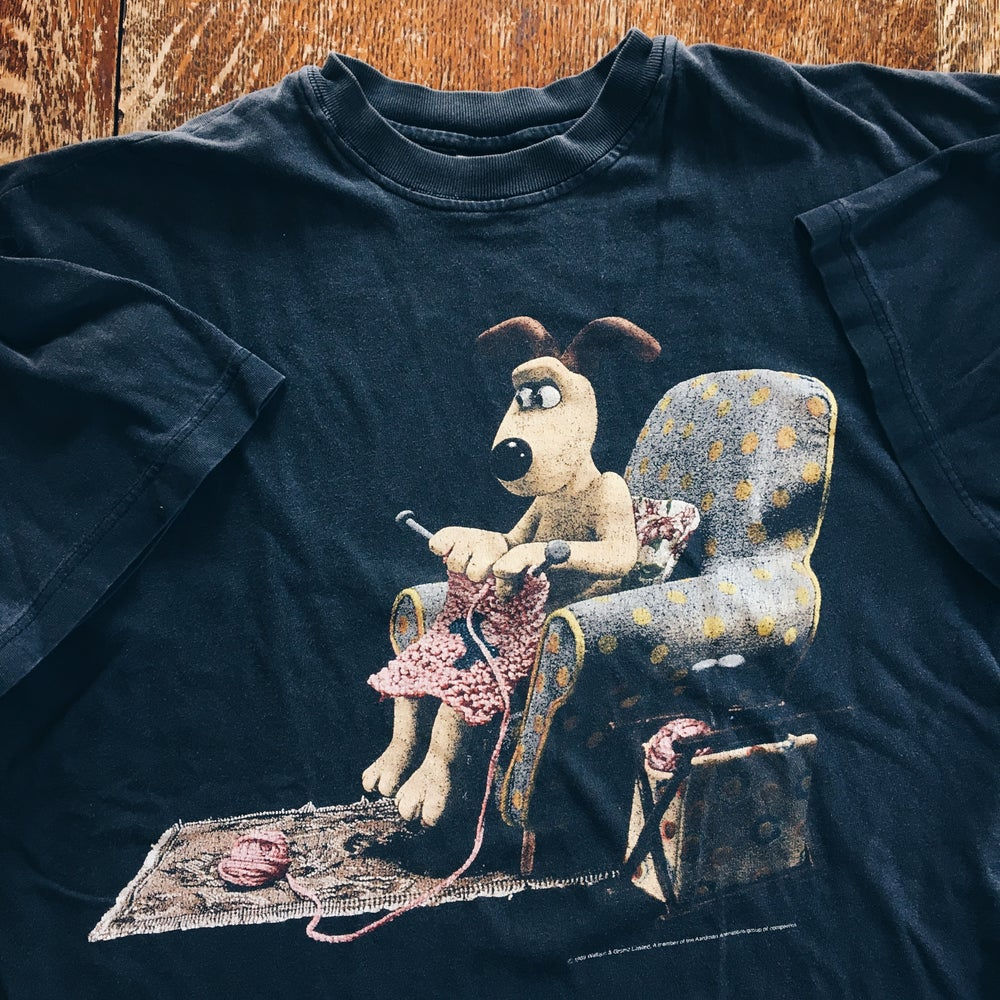 Image of Original 1989 Wallace And Gromit Tee.