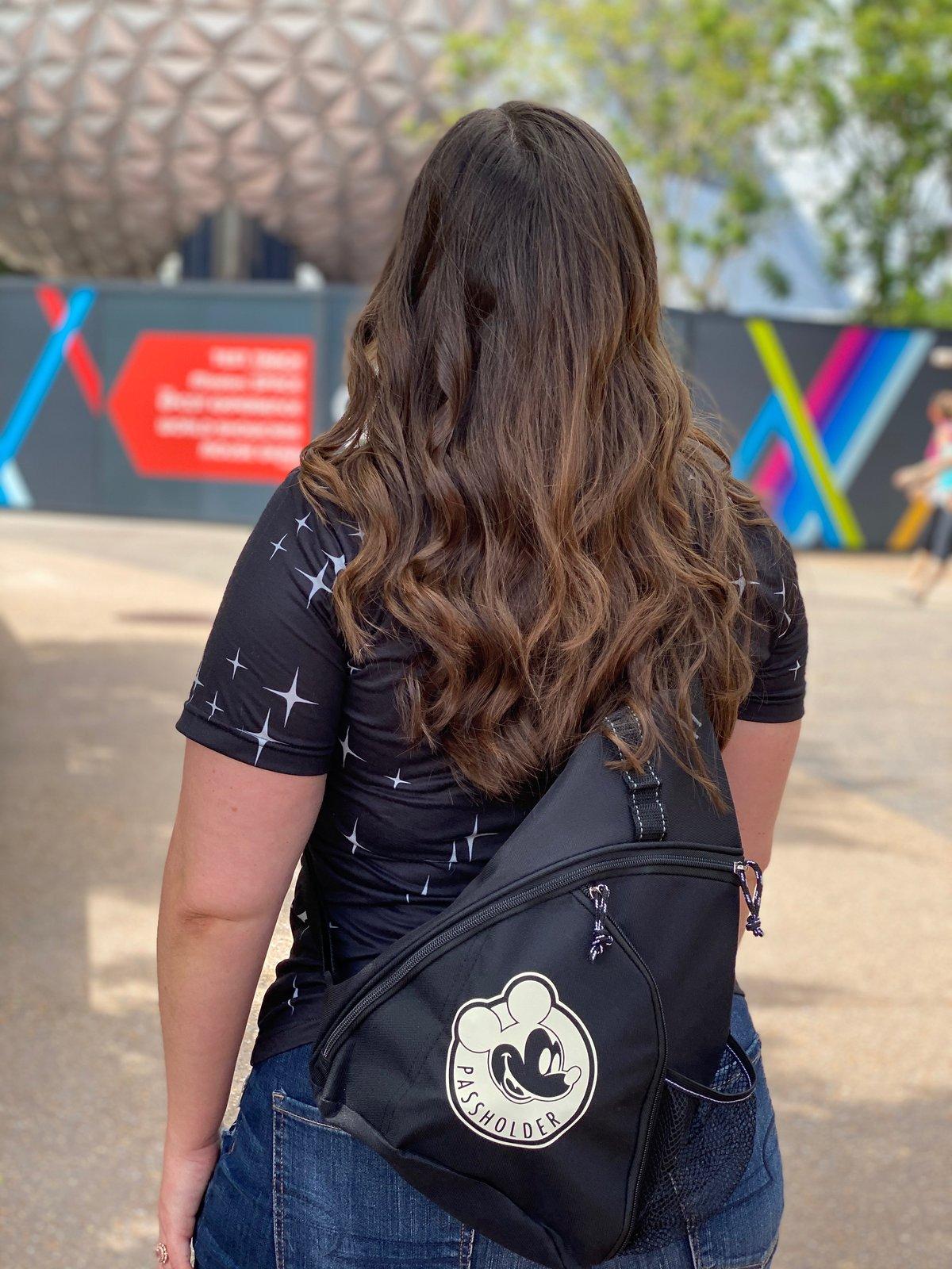 Image of Color Changing Passholder Sling Bag