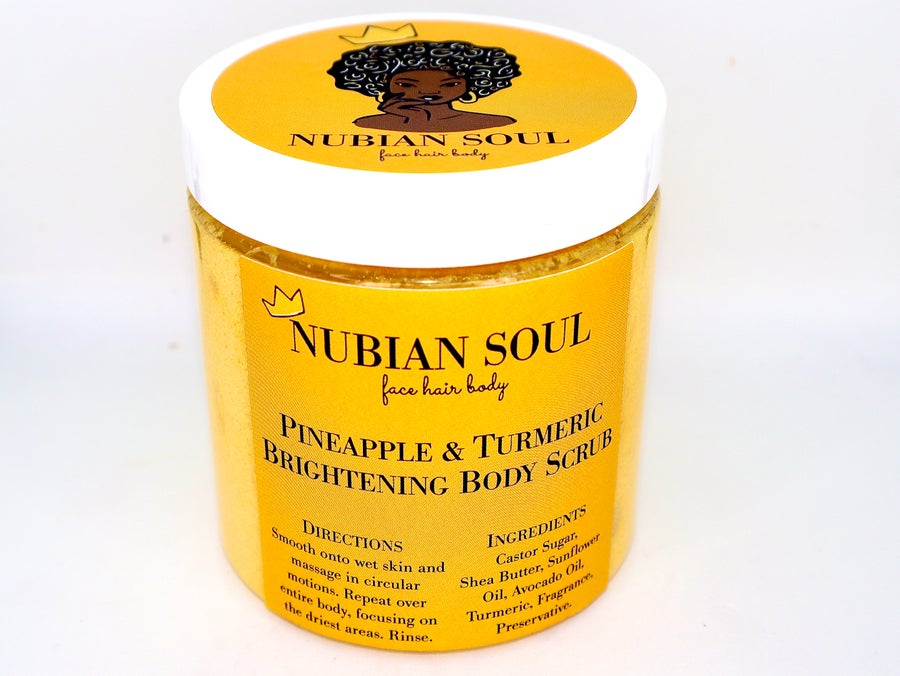 Image of Pineapple & Turmeric Brightening Body Scrub