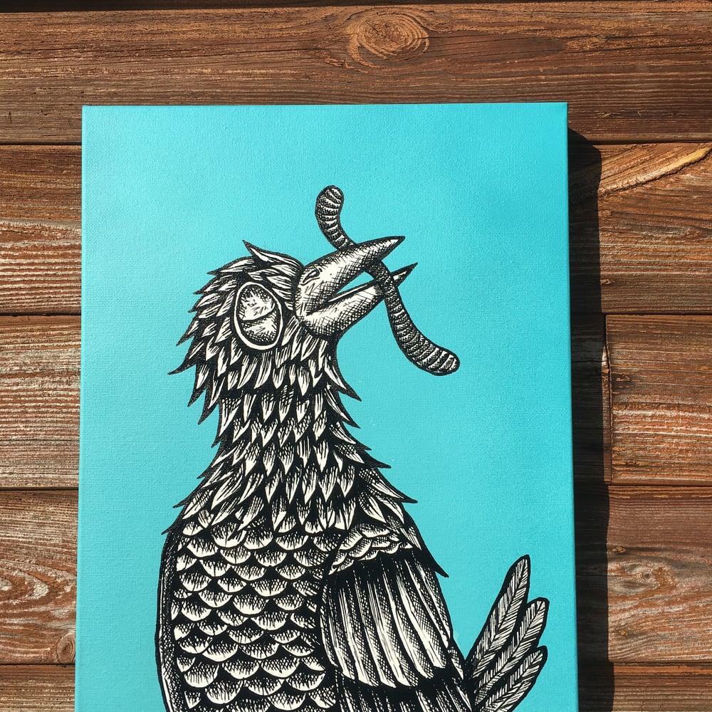 'Warhol's bird'