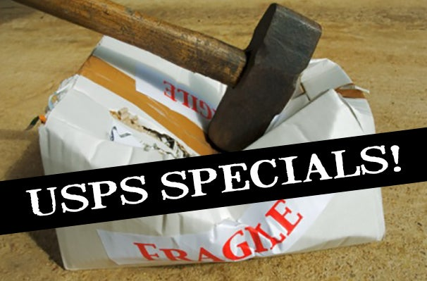 Image of USPS Specials - Cosmetically Damaged LPs and CDs (but still great for listening!)