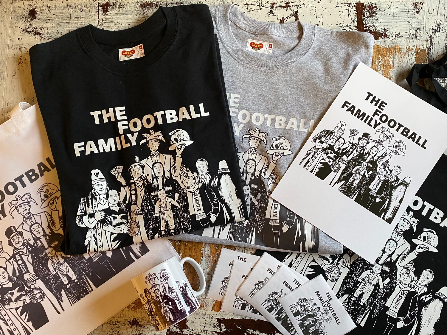 Image of The Football Family // Pack