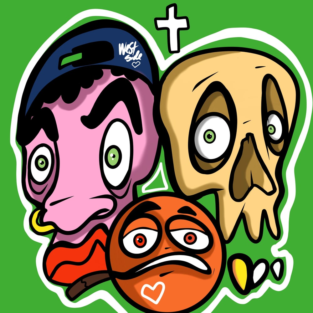 Image of Three Amigos (Skull party)