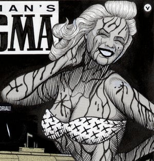 Image of TRUMAN'S DOGMA ink original