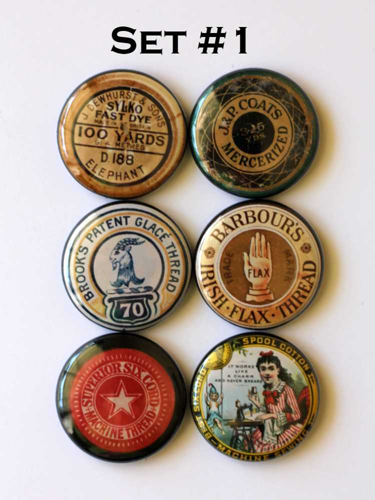 Image of Sewing Spool Thread  Tops Flair