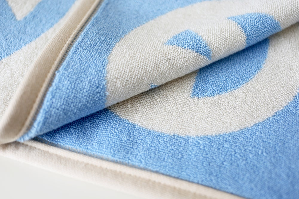 Image of Large Peace Towel <div> Sky & Scour</div>