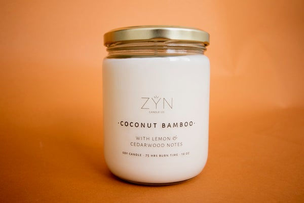 Image of Coconut Bamboo 16 oz Candle