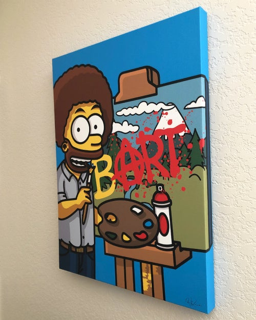 Image of bART Ross - 24 inch - Canvas Print