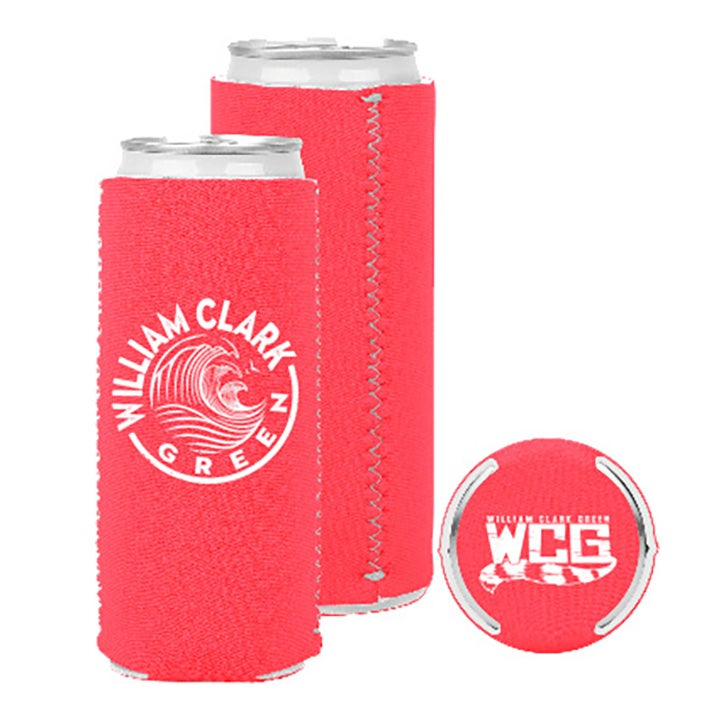 Image of Coral Slim Koozie