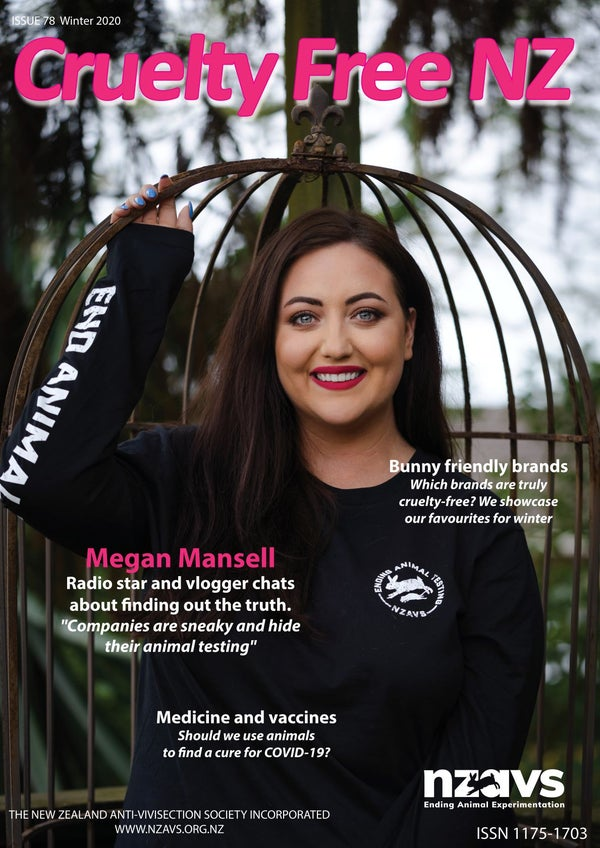 Image of Cruelty Free NZ Magazine (issue #78)