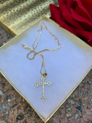 Cross Necklace Style 2