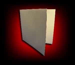 Image of Pochette GATEFOLD en carton pour double LP [blanc]