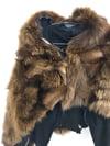 Avant Garde Maniac Corp If Six Was Nine Fur Bolero