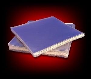 Image of 50 Pochettes plastique PVC pour 45 Tours