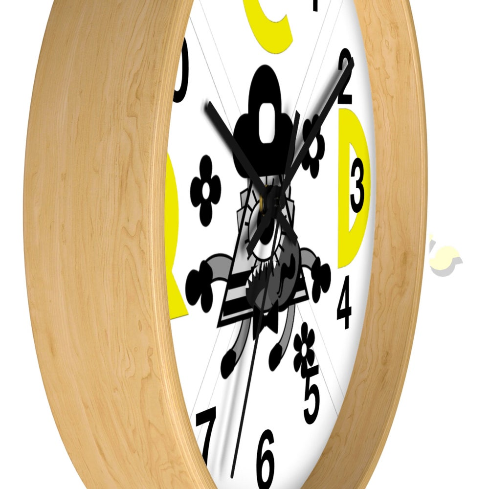 Image of Wooden RCD clock