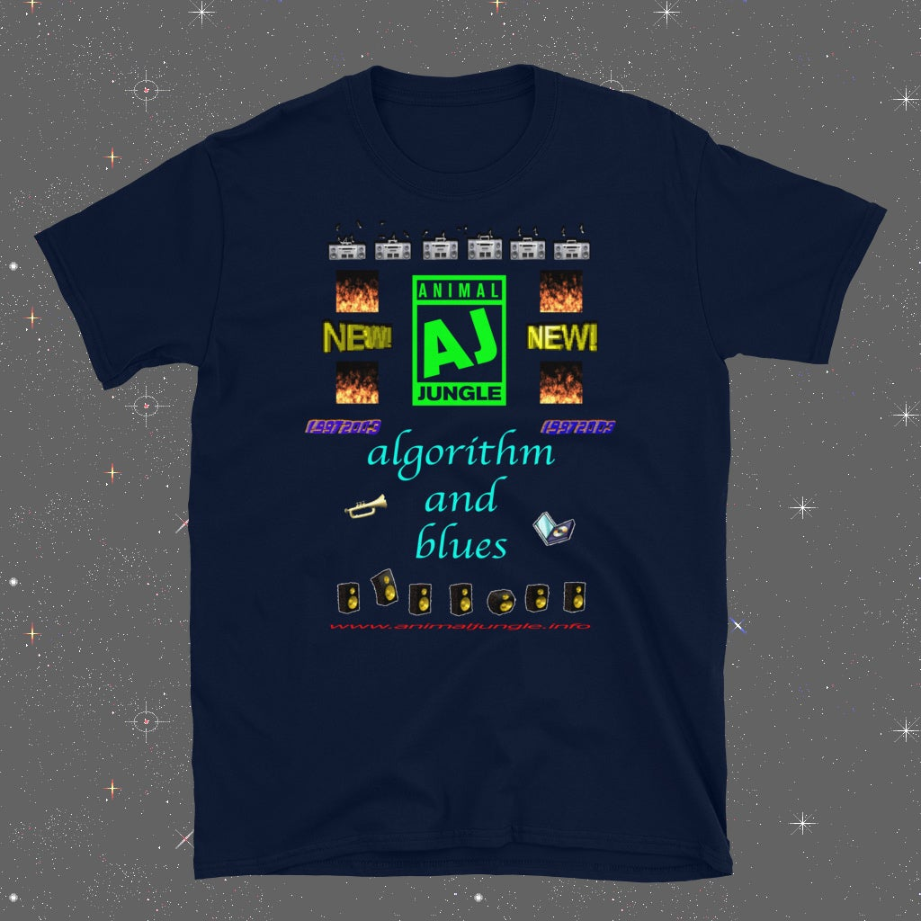 ANIMAL JUNGLE - ALGORITHM AND BLUES - T-SHIRT