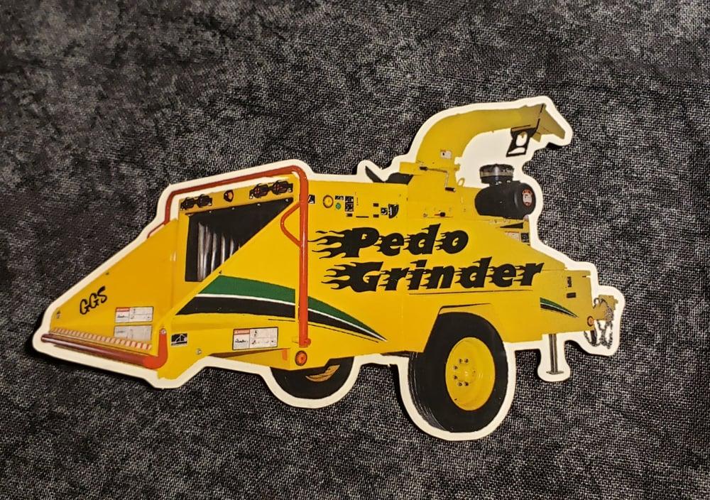 Image of Woodchipper Go Brrr... Sticker