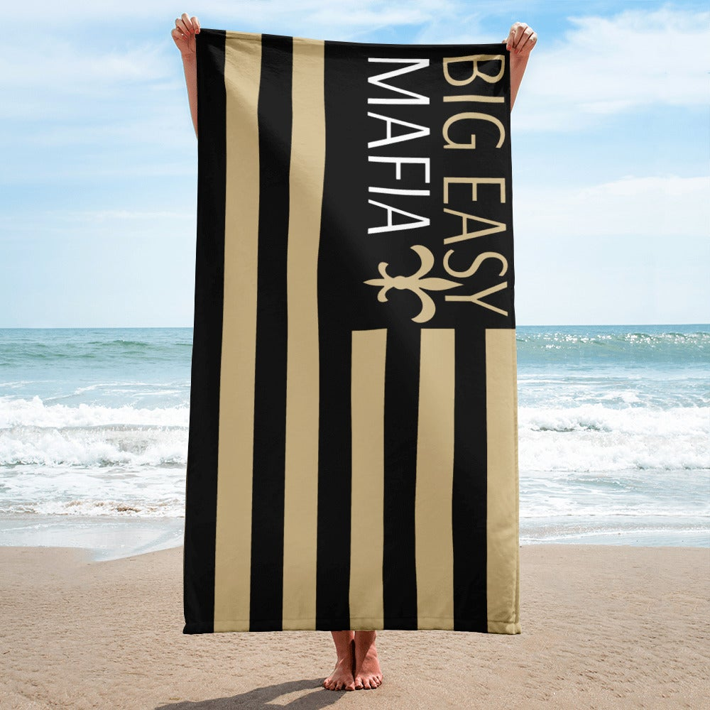 Image of Big Easy Mafia Beach Towel