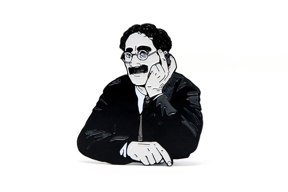 Image of Groucho Marx - Groucho Marx Enamel Pin