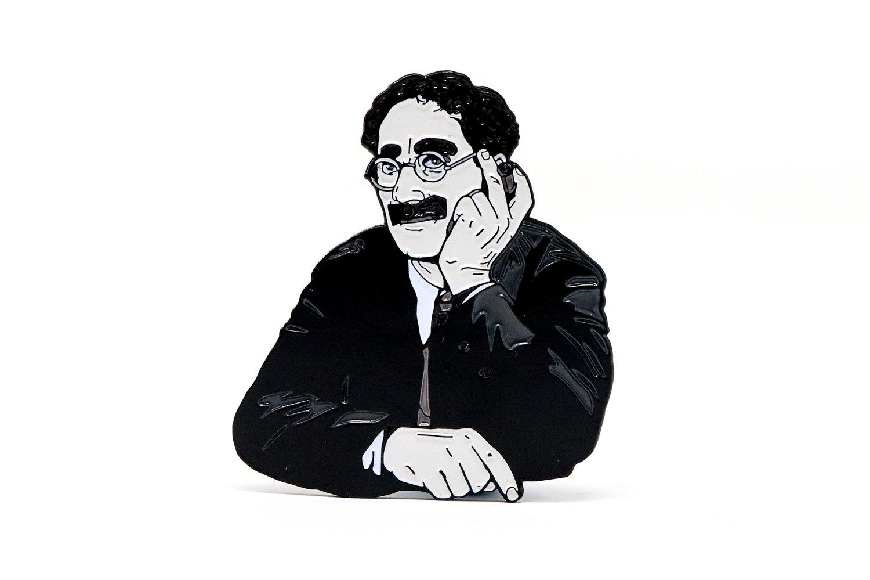 Image of Groucho Marx - Groucho Marx Enamel Pin