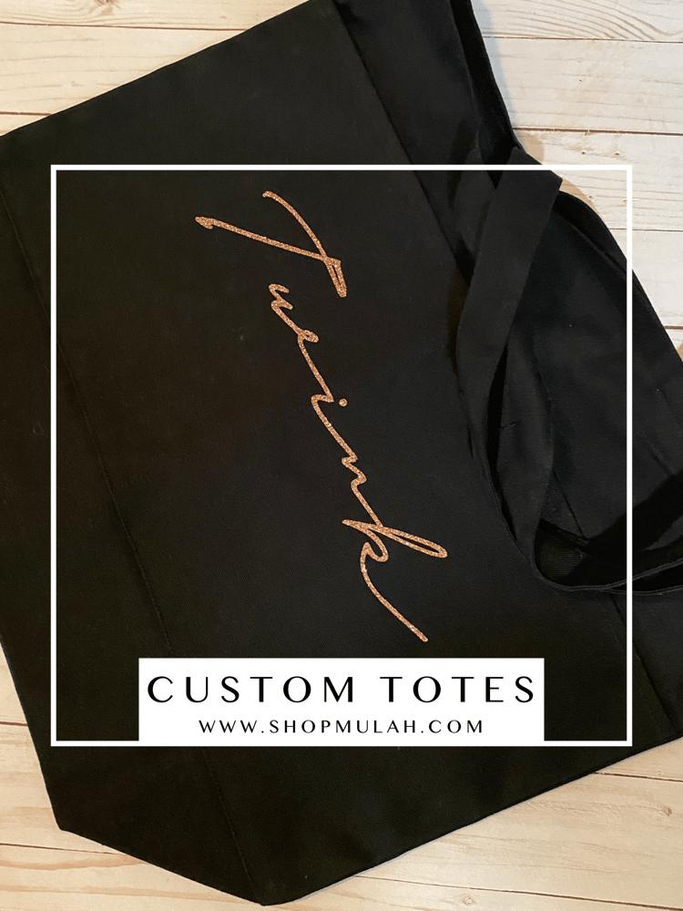 Image of Custom Totes