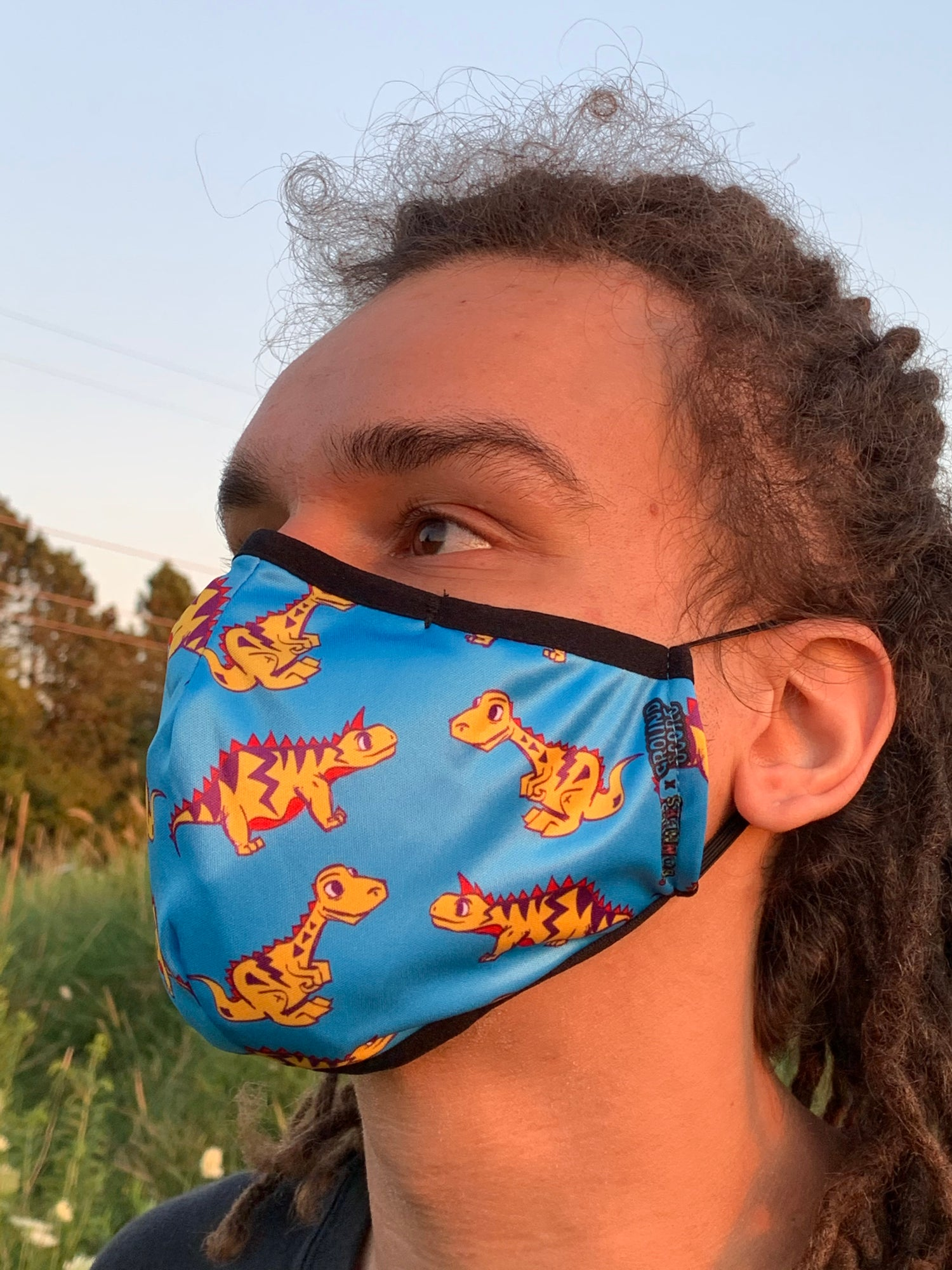 Completely Bonkers - Blue Dino Mask (Buy 1, Get 1 Free)