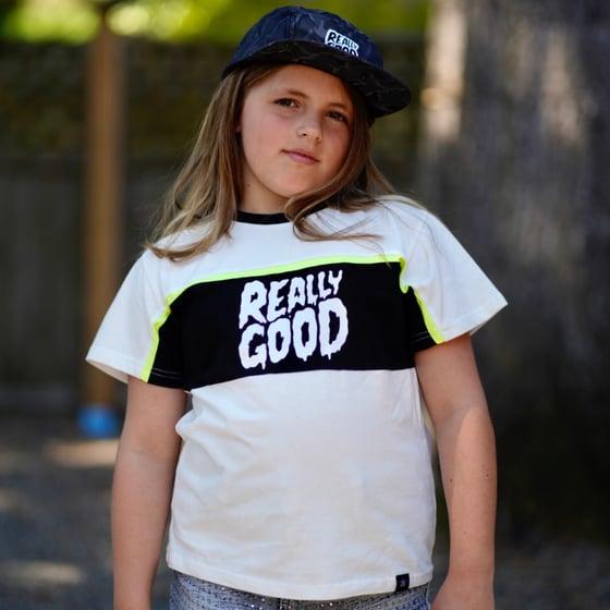 Image of Really Good Kids T Shirt 2020 Karimo Logo LTD