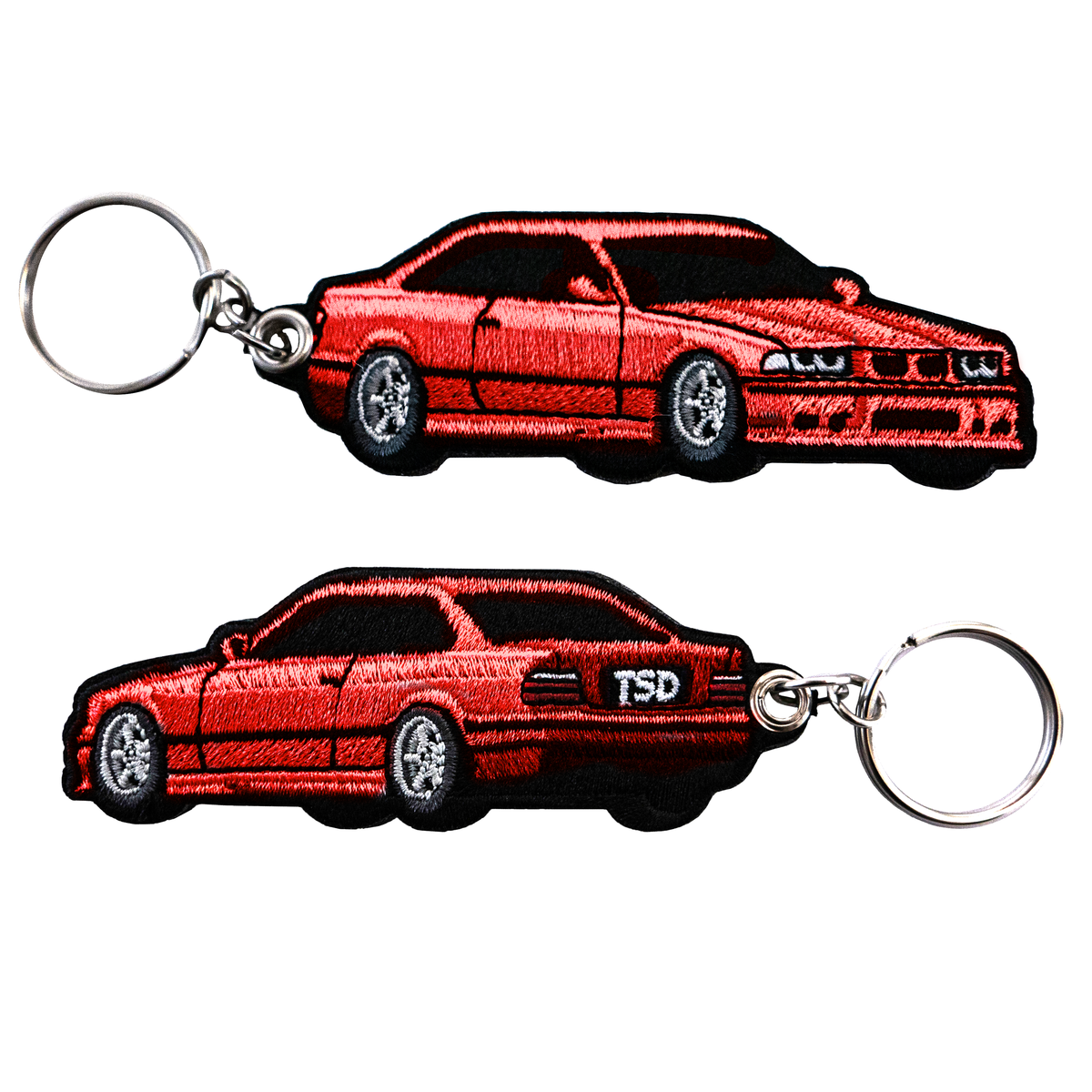 Image of *IN STOCK* BMW E36 KEYCHAIN HELLROT RED