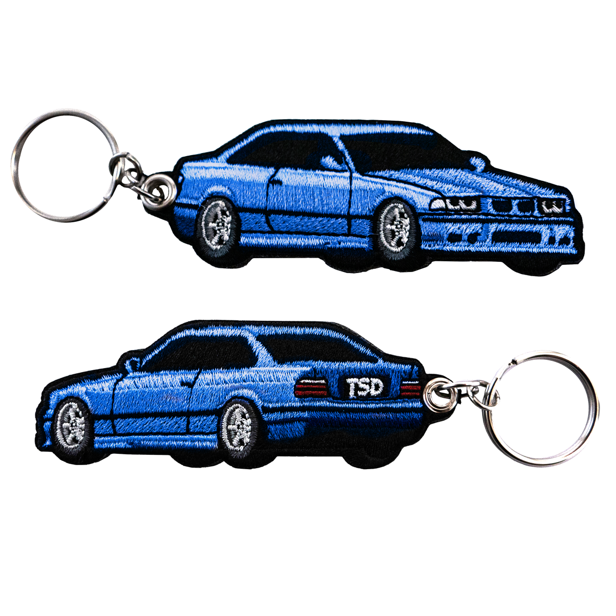 Image of *IN STOCK* BMW E36 KEYCHAIN ESTORIL BLUE