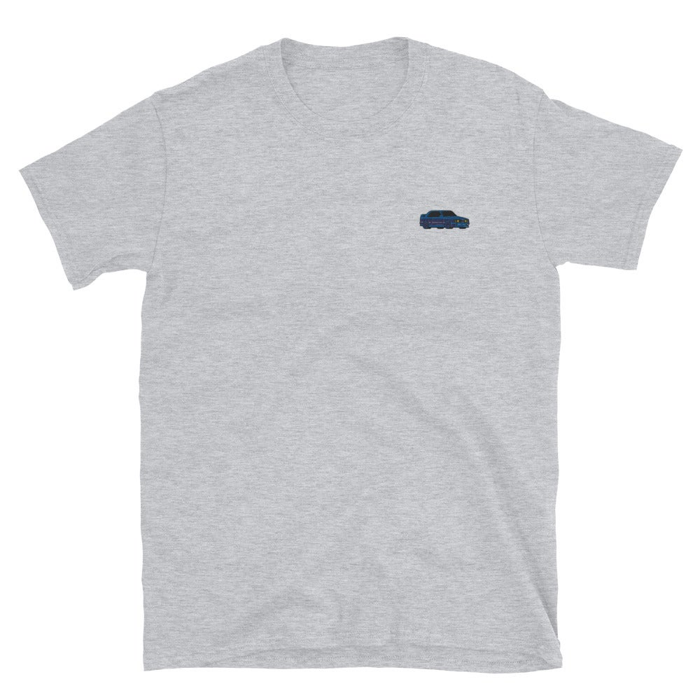 Image of Embroidered E30 T-Shirt - Midnight