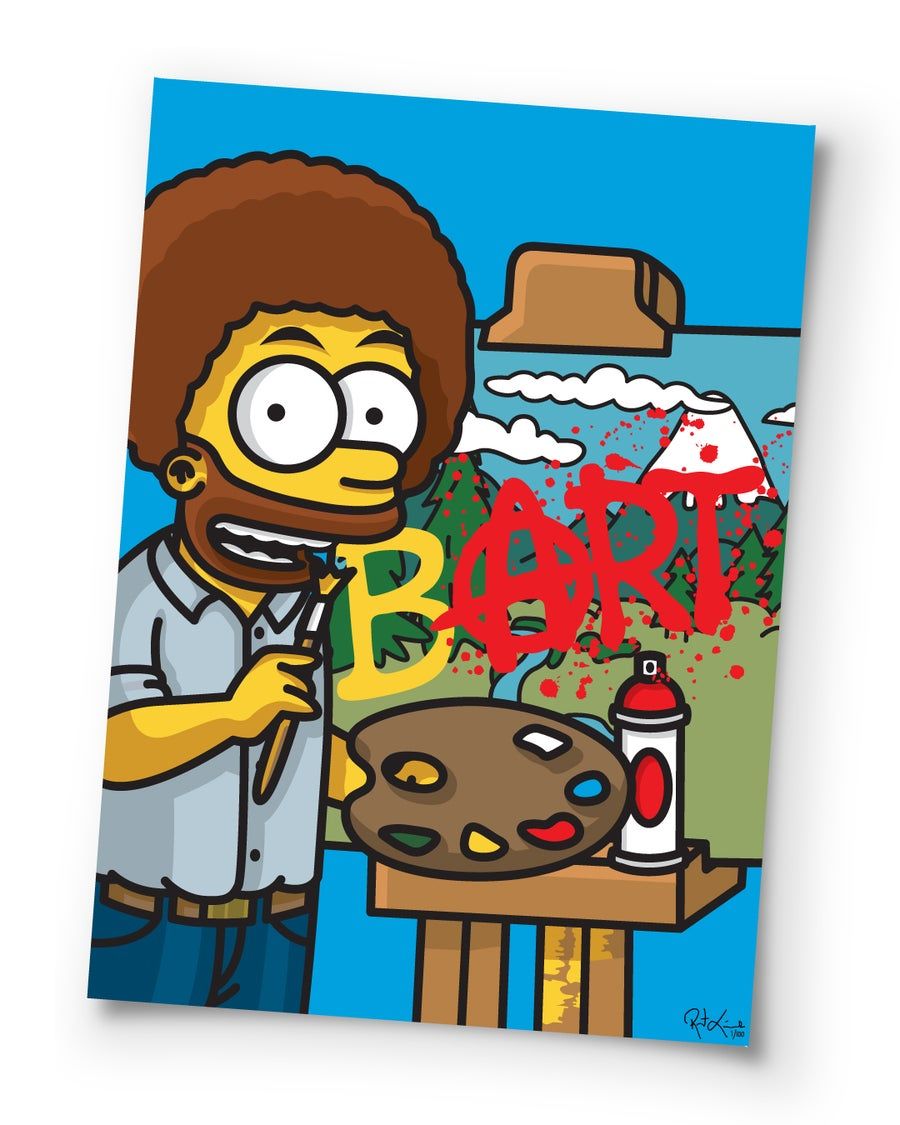 Image of bART Ross - 27 inch - Poster Print