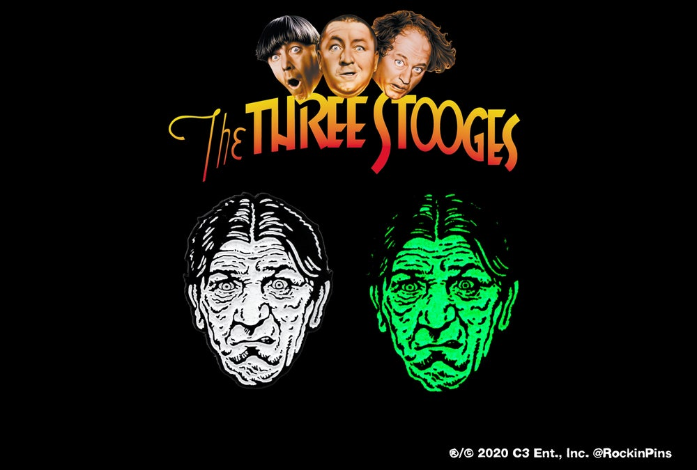 Image of The Three Stooges - Shemp Howard Head Enamel Pin